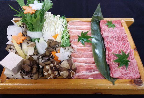 豚肉と和牛