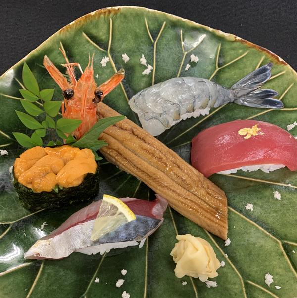 福岡西区和食よひら2月限定寿司